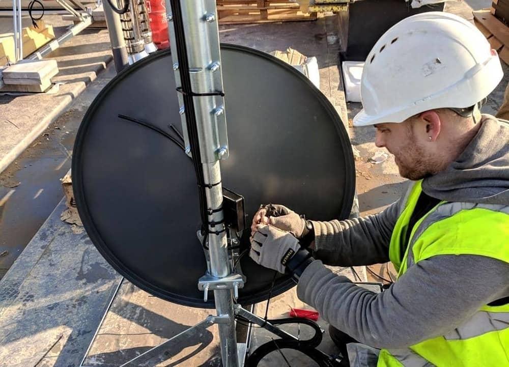 Freesat Dish Installation